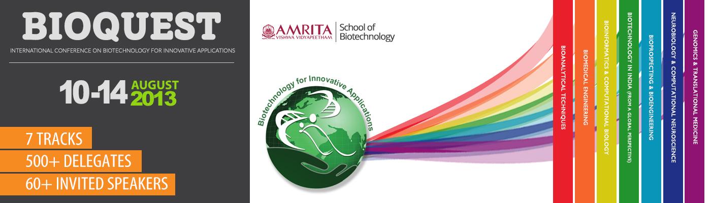 Amrita BioQuest 2013
